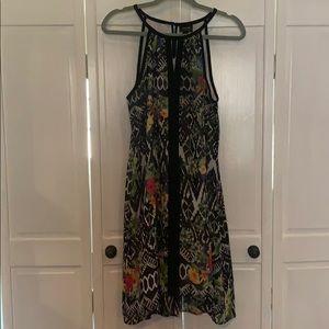Nicole Miller Flower Printed Dress 🌸